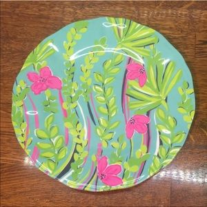 Lilly Pulitzer set of 4 plates